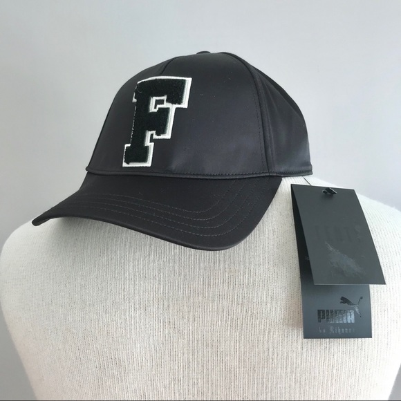 huge selection of 2d9fd 11d2e Puma x Fenty Monday black satin cap Rihanna NEW